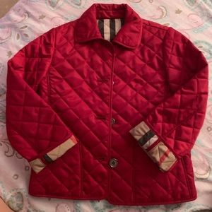Burberry girls jacket size 5y